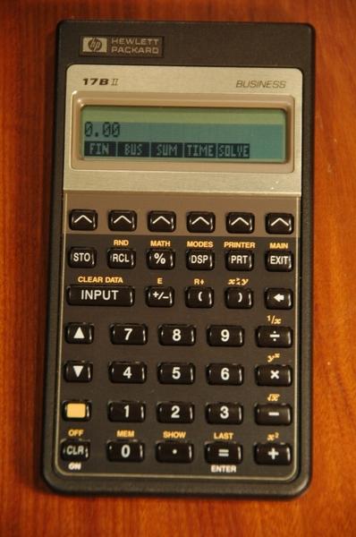 hp 17bii original - used