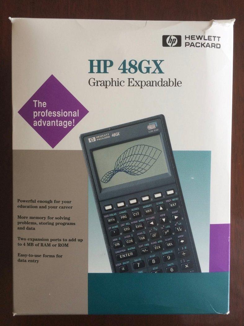 hp 48gx in box thecalculatorstore