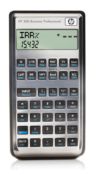 Hp B Financial Calculator  Thecalculatorstore