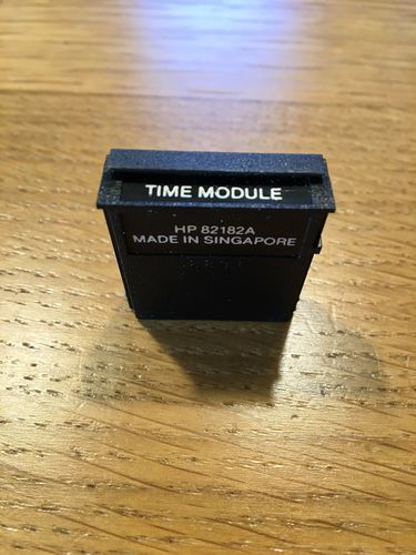 Time module for HP 41c/vc calcs - USED