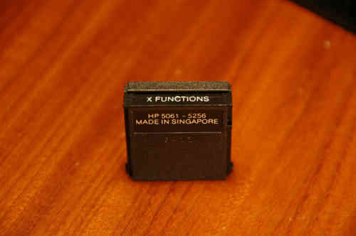 X-Functions module for HP41c/cv - USED