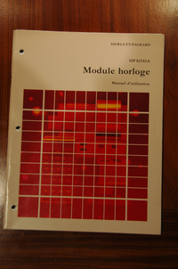 Time Module Manual - French