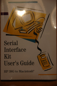 38g Serial interface kit user's guide MAC