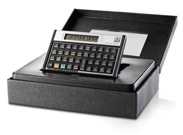 Vintage hp-15c scientific calculator owner handbook accessories.