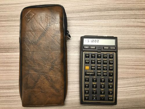 HP 41CV Scientific Calculator - USED