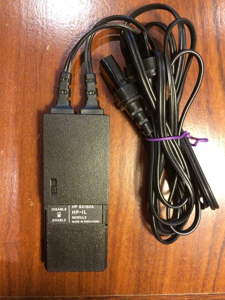 hp-il interface module for hp41c  cv  cx  cl