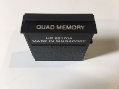 Quad Memory module for HP41c - USED
