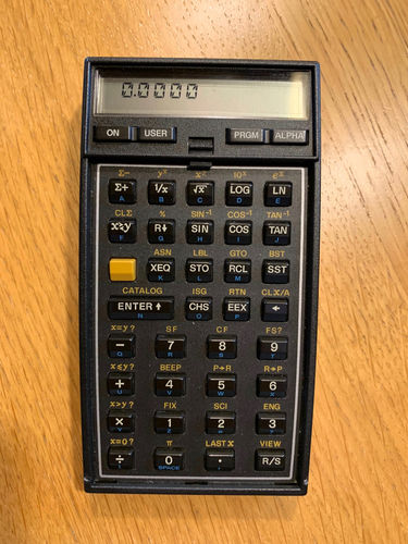 HP 41C Scientific Calculator - USED